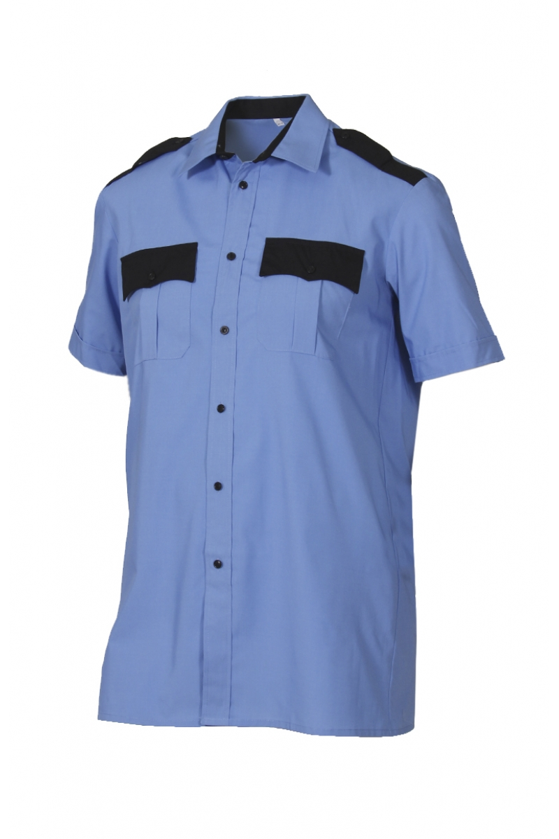 Сорочка форменная с коротким рукавом