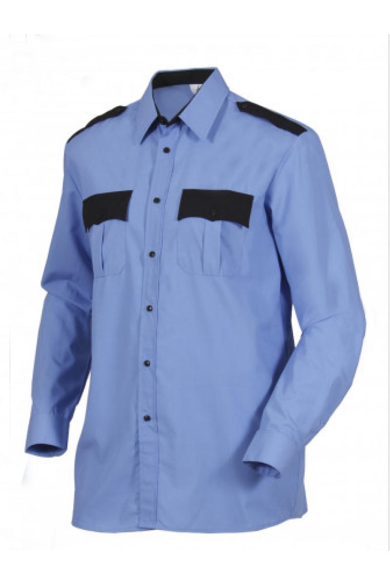 Сорочка форменная с длинным рукавом